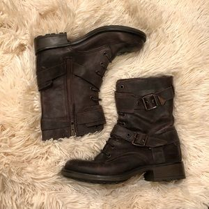 Guess Shoes - Guess Combat Boots
